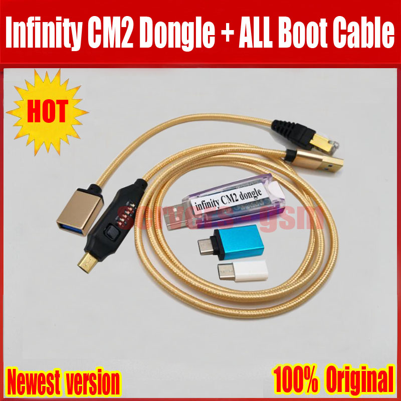 2019 Newest original Infinity CM2 Dongle infinity box dongle + umf all in one boot cable2019 Newest original Infinity CM2 Dongle infinity box dongle + umf all in one boot cable