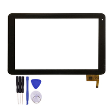 10.1 Inch Touch screen for  Multipad 4 Quantum 10.1 PMP5101C_QUAD PMP5101C Tablet PC Digitizer Glass Panel
