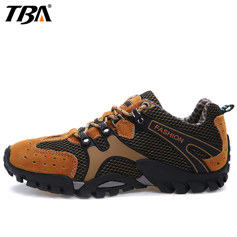 TBA Anti Slippery Hiking Shoes For Men Outdoor Camping Sport Shoes Man Brand 2017 Breathable Climbing Athletic Men's Sneakers bolangdi 2017 new anti slip outdoor men hiking shoes high quality trekking camping shoes breathable lace up brand sport sneakers