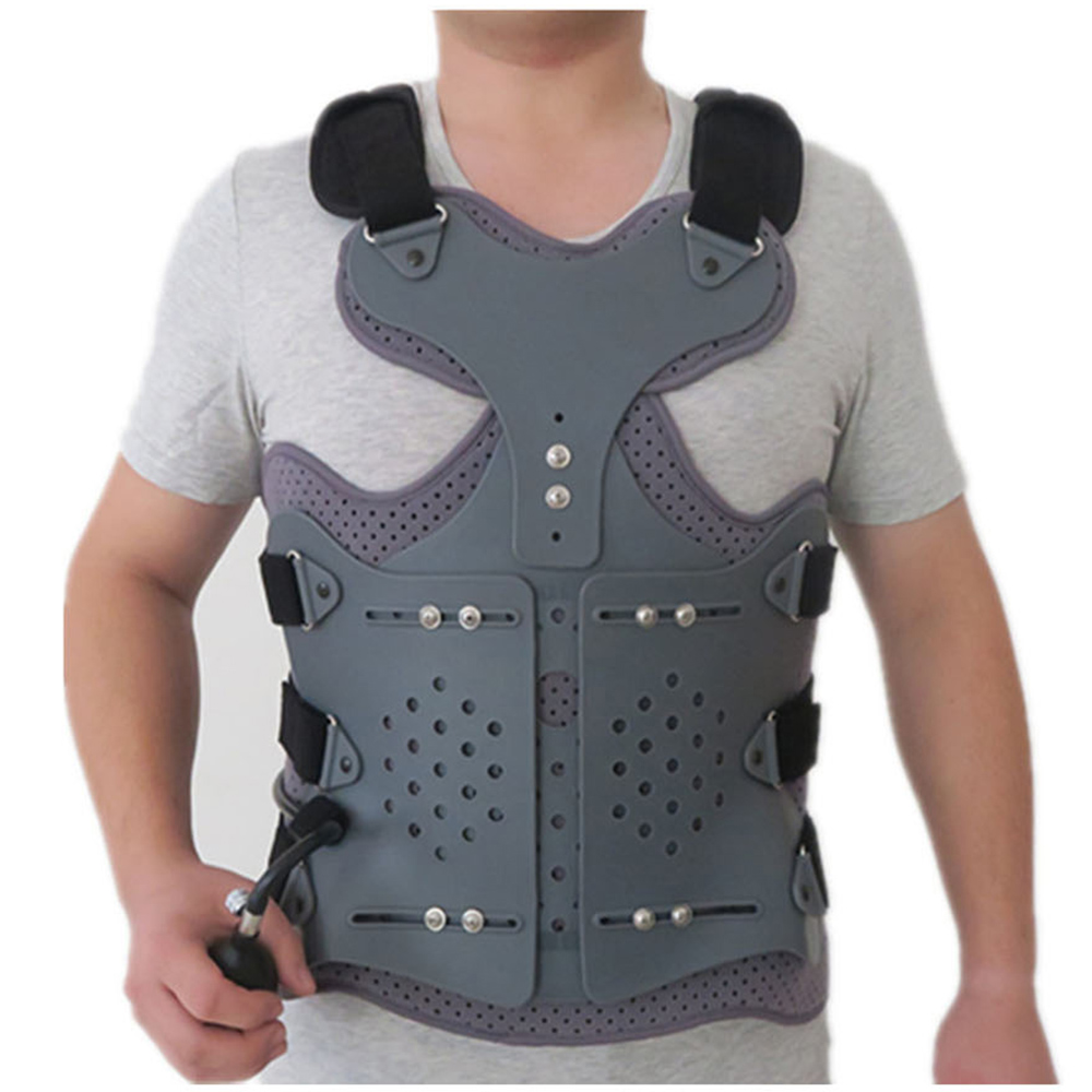 Inflatable Thoracolumbar Orthosis Adjustable Lumbar Spine After Fixation Brace Bracket Thoracic Compression Fracture Support
