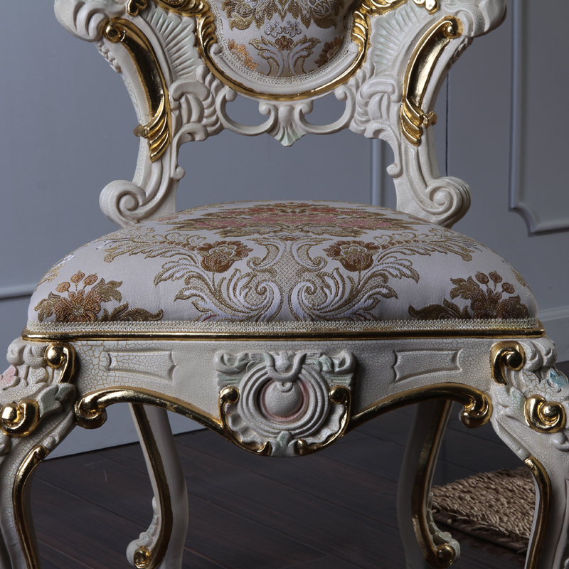 Incredible Luxury Italian Style Dining Chairs Solid Wood Hand Carved Bralicious Painted Fabric Chair Ideas Braliciousco
