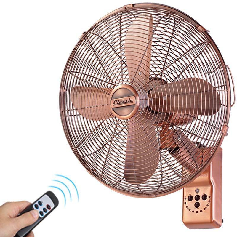 Retro wall mounted fan