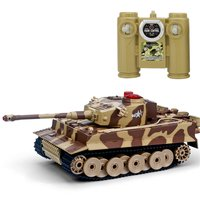 518 1/24 RC Tank Crawler IR Remote Control Toys Simulation Infrared Cannon Emmagee RC Fighting Battle Tank Toy RC Car kids Gifts