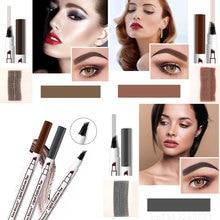 Makeup-Tools Enhancer Eyebrow-Tattoo-Pen Microblading Henna Waterproof 4-Fork-Tip Fine-Sketch