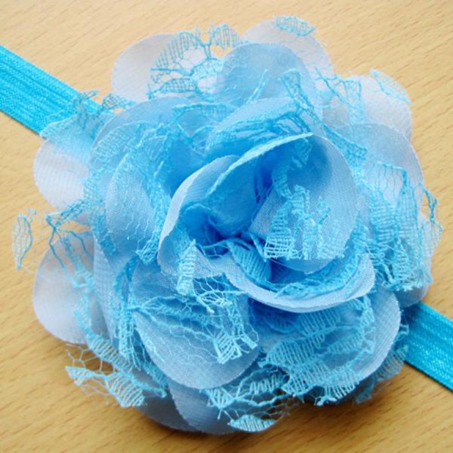 BMF TELOTUNY Fashion 10PCS Lace Flower Kids Baby Girl Toddler Headband Hair Band Headwear Apr6 Drop Ship