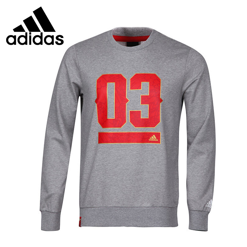 Original New Arrival 2017 Adidas GFX CNY CR SWT Men's Pullover Jerseys Sportswear adidas original new arrival official neo women s knitted pants breathable elatstic waist sportswear bs4904