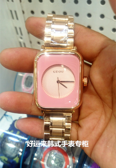 Luxury Brand Casual Watch Square reloj mujer Fashion Dress Clock Lady Quartz Rose Gold Stainless Steel Wrist Watch Montre Femme geneva brand fashion rose gold quartz watch luxury rhinestone watch women watches full steel watch hour montre homme reloj mujer