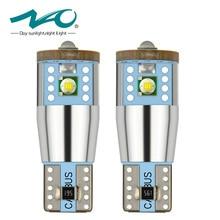 NAO 2Pcs t10 LED CANBUS Cree Chip NO ERROR W5W led Bulbs Xenon White High Power 3W 194 168 Lamp 12V