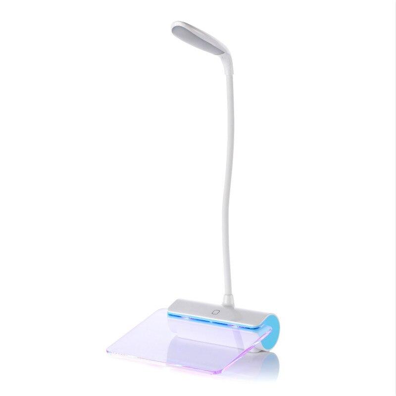 Actief Message Board Led Tafellamp Bureaulamp Flexibele Lamp Touch Op/off 3 Modi Dimmer Oogbescherming Desk Lights Vloeiende Circulatie En Pijn Stoppen