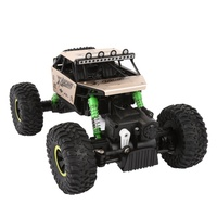 Cool Children RC Cars Off-Road Rock Vehicle High Speed 1:18 Radio Remote Control Racing Cars Electric Fast Race Car Golden j2