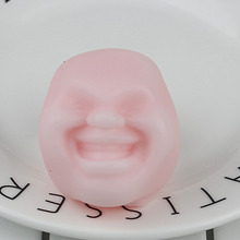 Squishy Stress Relief Face Toy