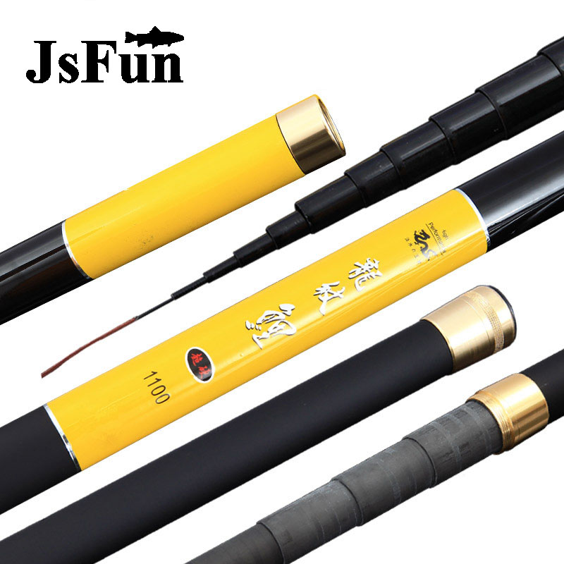 JSFUN 8M/9M/10M/11M/12M/13M Long Spare 3 Tips Carp Fishing Rod Carbon Fiber Superhard Taiwan Fishing Rod Stream Rod FG123 yuanhaibo hair yuanhaibo 6a 3 100% yhb 13m 221108