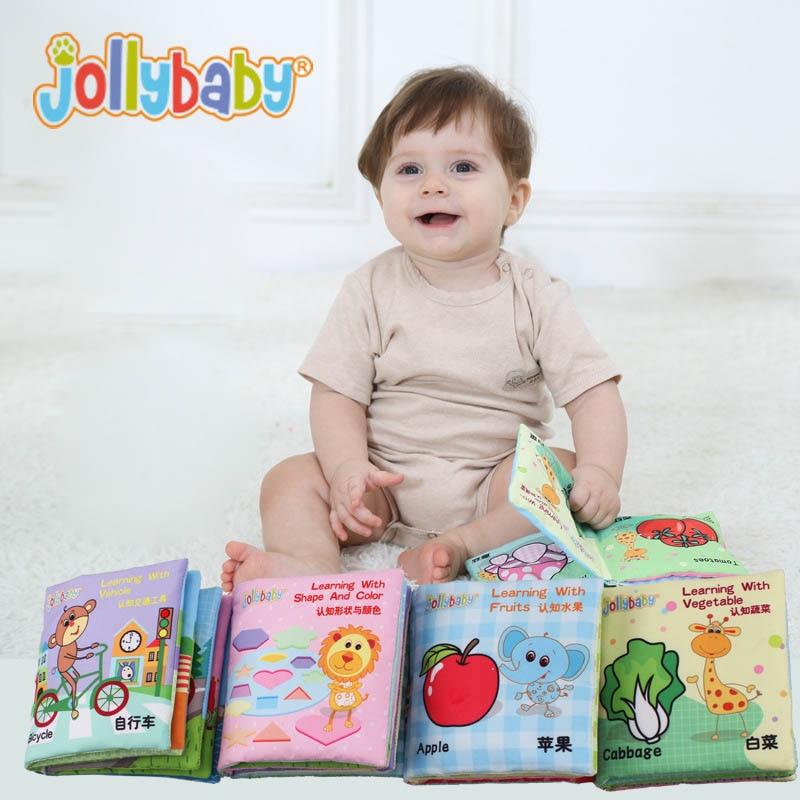 Toddler Educational Toys For Boys : Baby preschool crinkle soft cloth books handmade