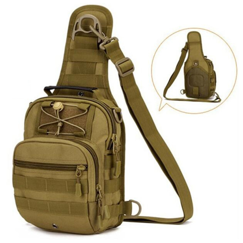 Men's Military Nylon Male Army Single Shoulder Bag Waterproof Man Multifunction Travel Tote Men chest bag Messenger Bag
