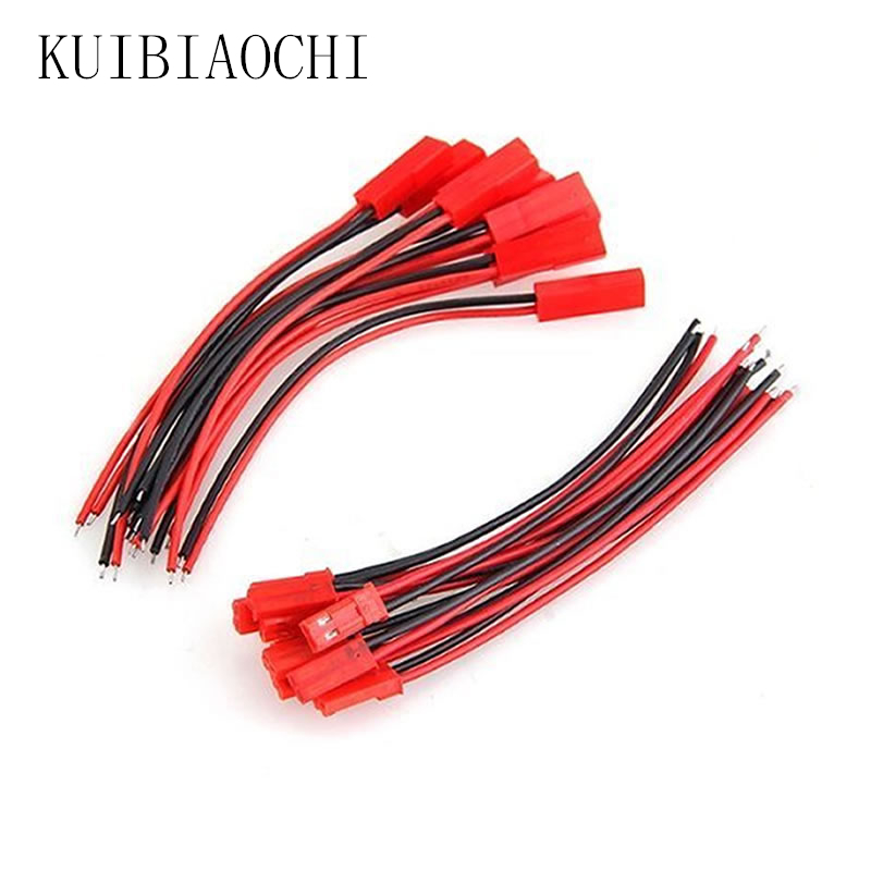 15 Pairs Good Quality JST Connector Plug Cable Male And Female 100mm / 150mm For RC Battery