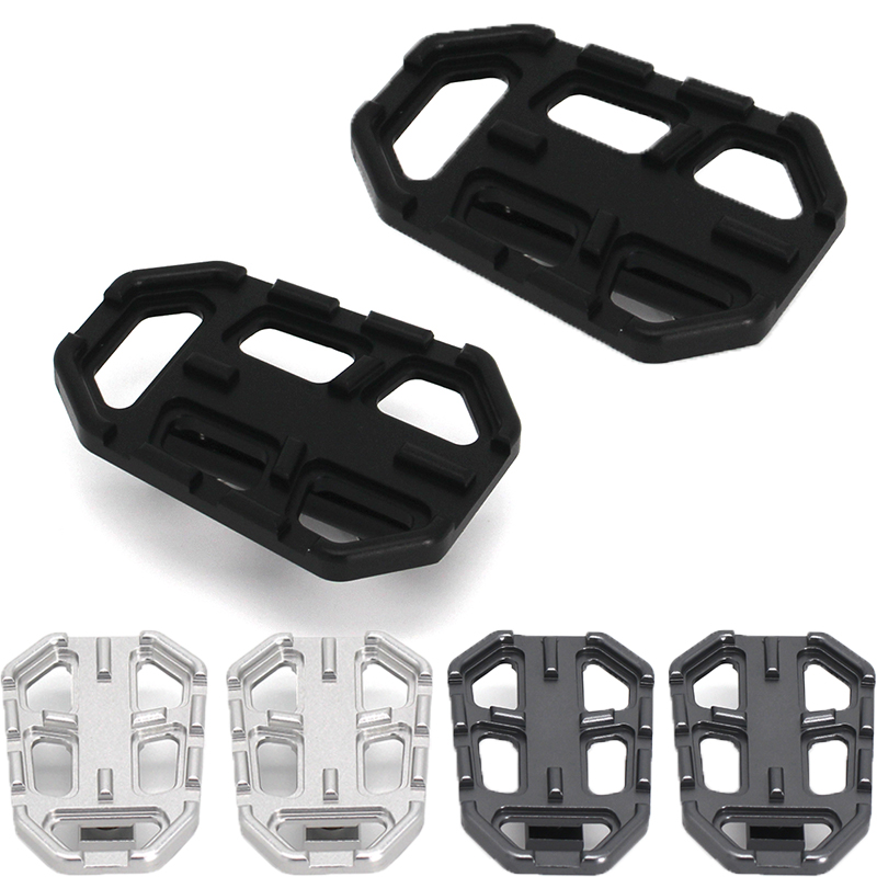 Motorcycle Extension Enlarge Side Stand Support Pad Support Footrest Wide Pedals Pedal Rest Footpeg For BMW R1200GS G310GS R nineT S1000XR R nine T Urban R Nine T Scrambler