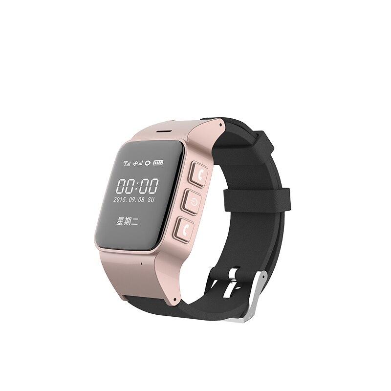 Nueva Llegada Anciano Inteligente Reloj GPS Tracker con Función de SOS para Anci