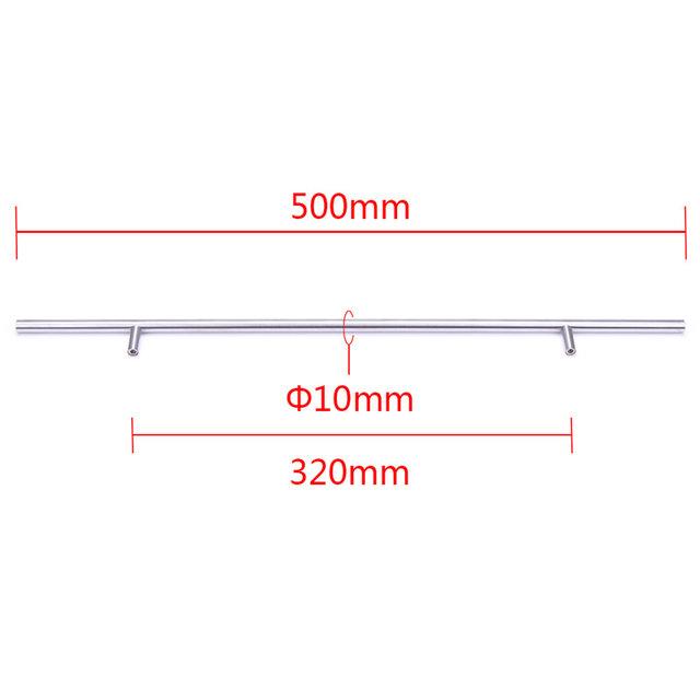 Tienda Online 50mm-500mm Acero inoxidable T Bar muebles puerta ...