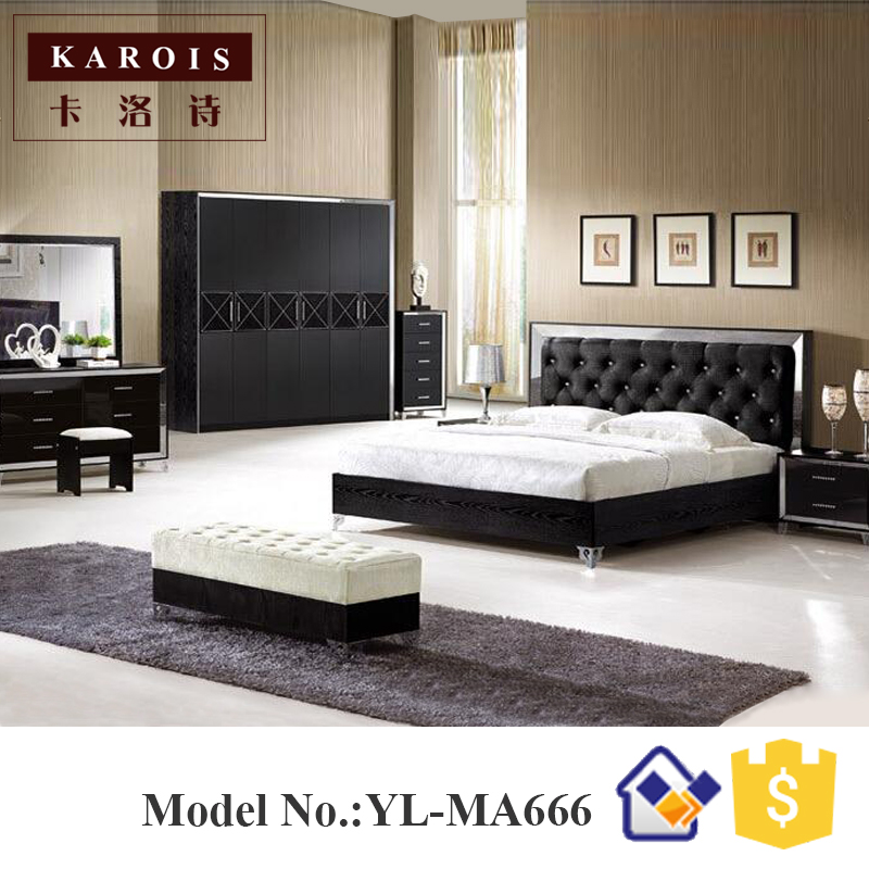 China Furniture Stores Online Wardrobe Wooden Dressing Table With Full Length  Mir King Bedroom Set