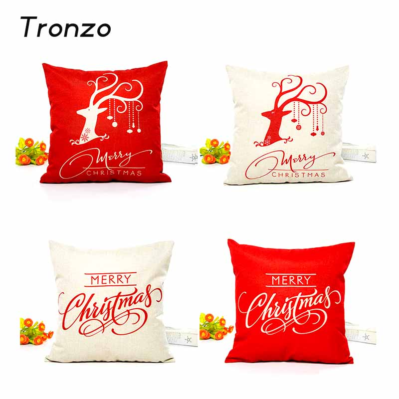 Christmas Decoration Pillow Cover Case 1