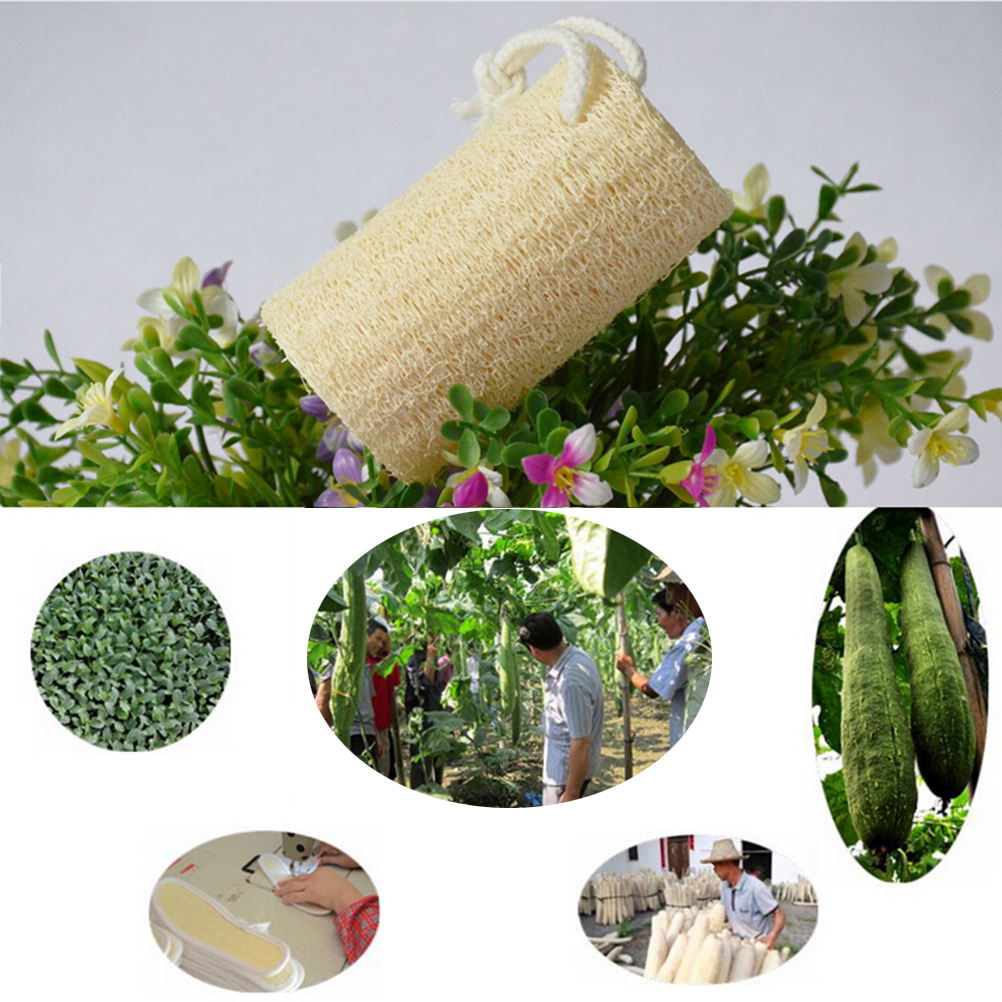 Natural Loofa Bath supplies Bath Spa message Body Scrubber Horniness Remover bathroom accessories image