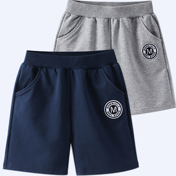 16Y Boys Beach Short Teenager Summer Short Pants Children Casual Bottom Pants for Baby Boys Letter Print Sport Shorts 3-14y