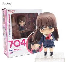 662315384685 Anime Nendoroid Saenai Heroine No Sodate-Kata. Flat Kato Megumi 704 PVC  Figure Collectible