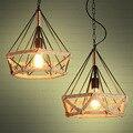 Подвесной светильник креативного типа в стиле ретро  подвесной светильник в стиле ретро  промышленный подвесной светильник для кафе  сети  ...