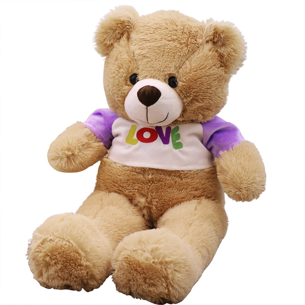 1PC Hot Toys 70CM Kawaii Huge Teddy Bears Plush Toys Stuffed Animals Fluffy Bear Dolls Soft Kids Toys