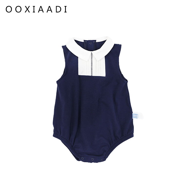 Children Clothing Baby sleeveless Romper Coveralls for Newborns Baby Clothes Overalls for Children Jumpsuits Baby Rompers 10477 cotton baby rompers set newborn clothes baby clothing boys girls cartoon jumpsuits long sleeve overalls coveralls autumn winter