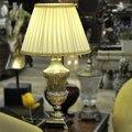 Mesa moda quarto lâmpada lâmpada de cabeceira luxo de cristal de vidro sala de decoração lâmpada estudo