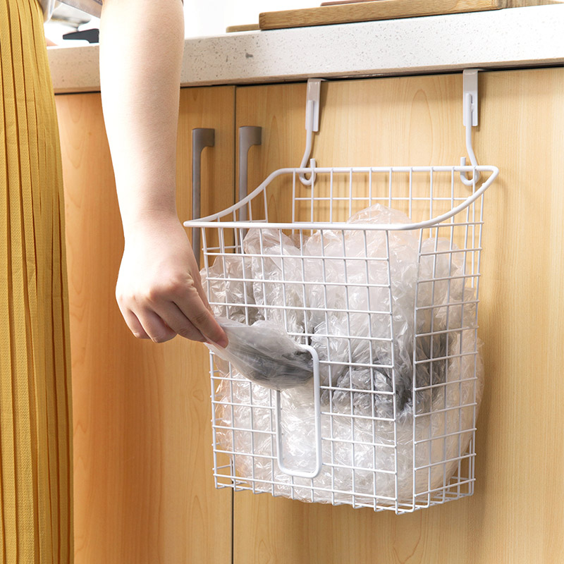 Железный крюк корзина для хранения Кухня полка, Ванная комната кабинет Бесплатная удар корзину