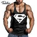 Homem Singlets Tanque Dos Homens Tops Camisa Sem Mangas de Algodão Equipamentos de Fitness Mens Homem Regata Longarina Ouros Homem Roupas Casuais