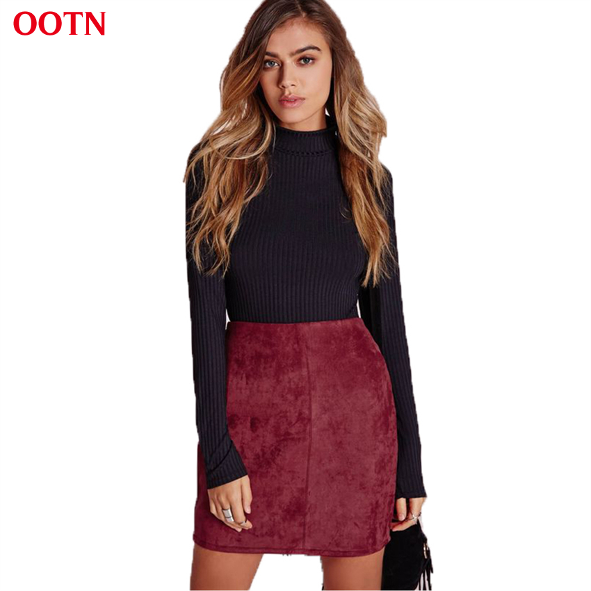 Popular Red Suede Skirt-Buy Cheap Red Suede Skirt lots from China ...