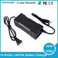 14.6 Volts 8A LifePO4 Carregador de Bateria Para A Vida PO4 Bateria