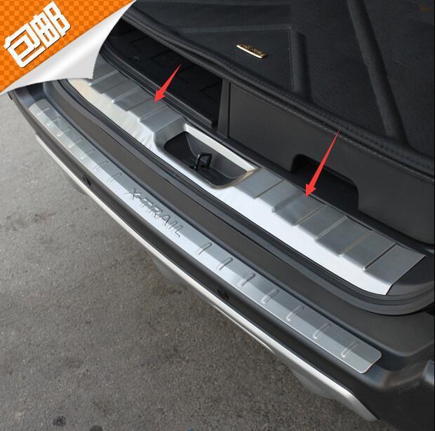 Защитная Накладка На Задний Багажник Отделка Крышки Порога Задний Внутренний Дверной Порог Стайлинга Автомобилей Для Nissan X-TRAIL 2007-2013
