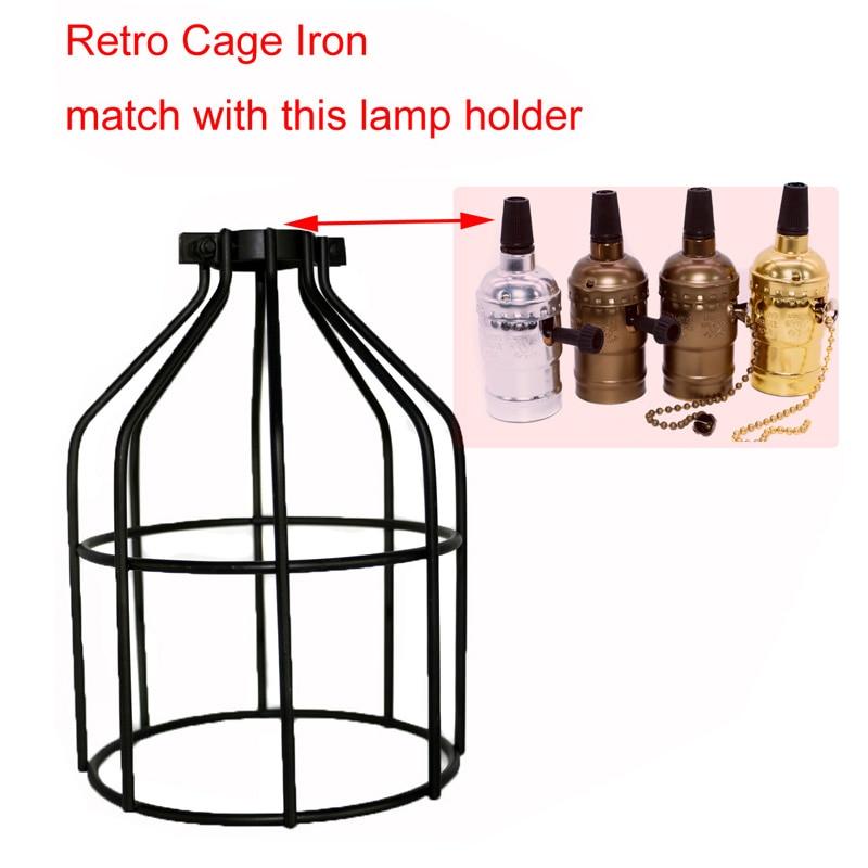 DIY Lampshades Contemporary Vintage Metal Diamond Bird cage Decor Lights Covers Shape Pendant Ceiling Light Lamp Lamp Shade in Lamp Covers Shades from Lights Lighting