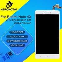 Для Xiaomi Redmi Note 4x Глобальный Версия Snapdragon 625 ЖК-дисплей Дисплей Сенсорный экран планшета Redmi Note 4x ЖК-дисплей сборки с Рамки