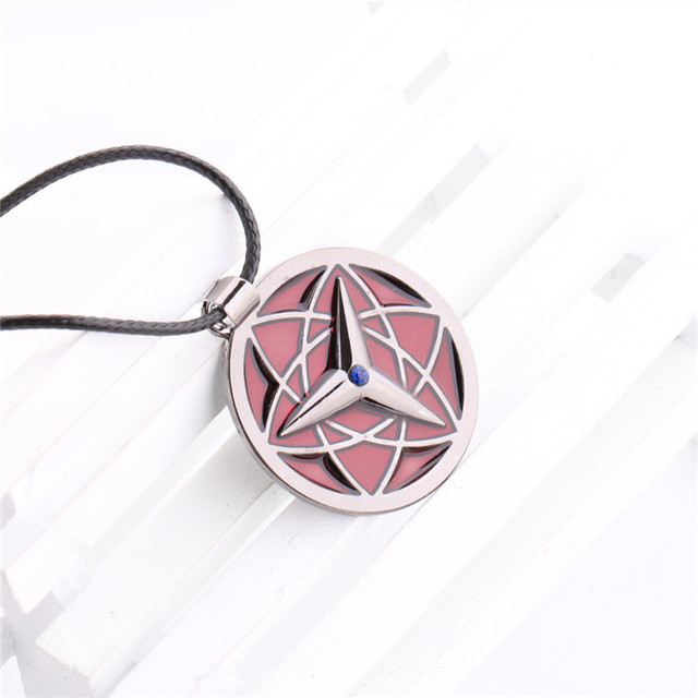 Naruto Necklace Pendant Cosplay Rope Chain