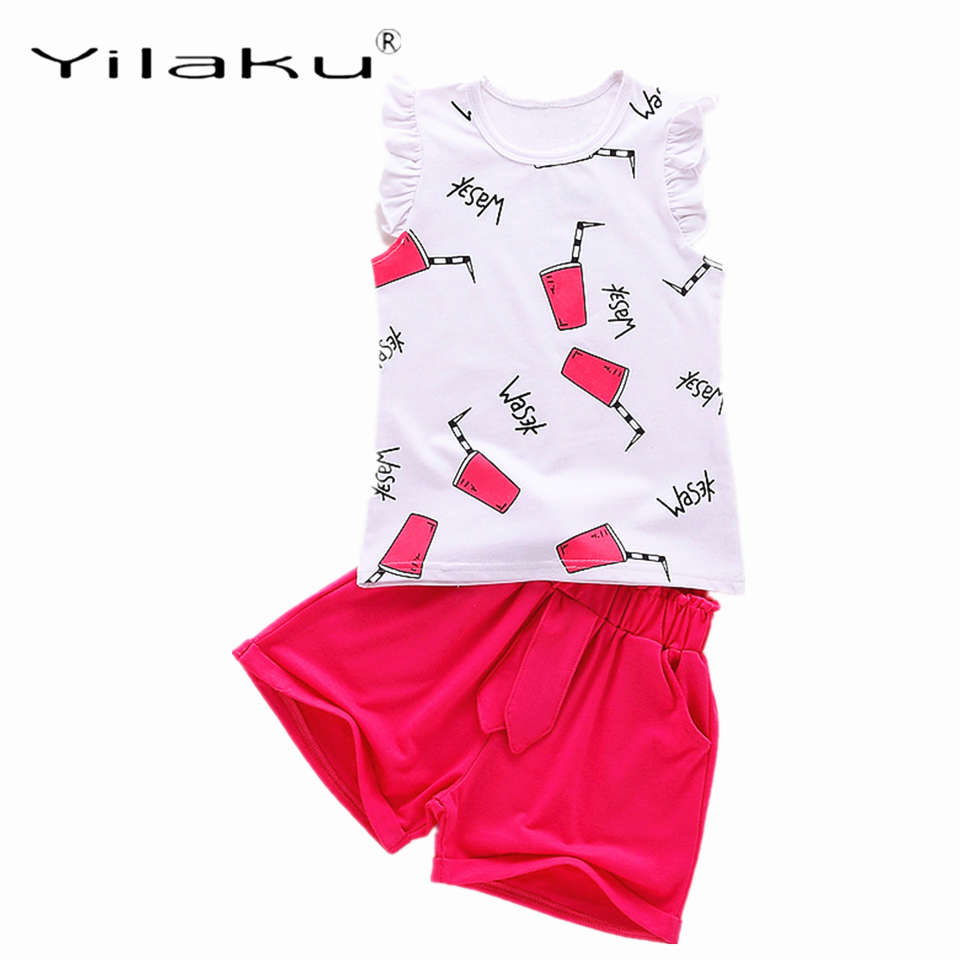 Yilaku Κορίτσια Ρούχα Ρούχα Μόδα Κορίτσι Καλοκαιρινά Ρούχα Αμάνικο ... 5660b7e3c03
