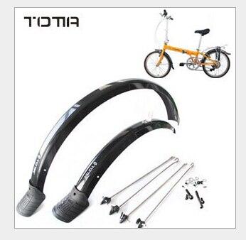 20 дюймов складной велосипед крыло пластиковое крыло Аксессуары для велосипеда