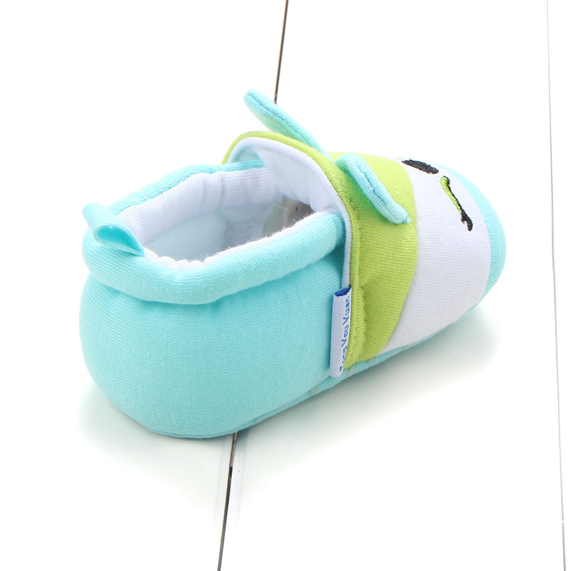 First Walkers Baby Shoes Cotton Anti-slip Booties Baby Girl Boy Shoes Animal Cartoon Newborn Slippers Footwear Booties Kids Gifts (40)