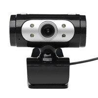 NOYOKERE di Alta Qualità Ad Alta Definizione 1280*720 720 p Pixel 4 LED HD Webcam Web Cam Con Visione luci Per Il Calcolatore
