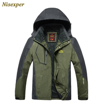 2017 autumn winter men women Jacket thick warm waterproof windproof anti fouling jackets mountaineering men pizex big size 8XL