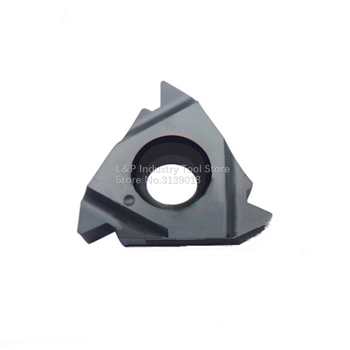New Original Vargus Vardex 2IR 18NPT VTX Thread Carbide Inserts 2IR 18 NPT VTX Cutting Blade Machine Tool Black image