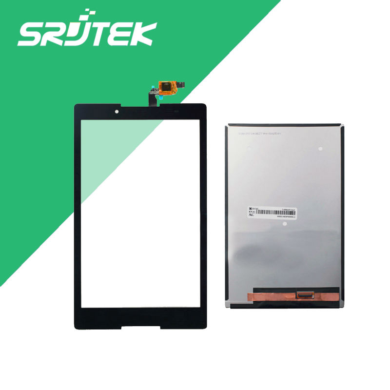 Srjtek 8 inch Black For Lenovo Tab 2 a8-50lc A8-50F LCD Display+Touch Digitizer Sensors Separatly Tablet Pc srjtek for lenovo tab2 tab 2 a8 50f a8 50lc touch screen panel digitizer sensor glass black and white 8 inch replacement parts