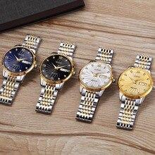 Ultra Thin Watch Men Automatic Mechanical Minimalist wristwatch mens tainless steel Band waterproof clock men Relogio Masculino