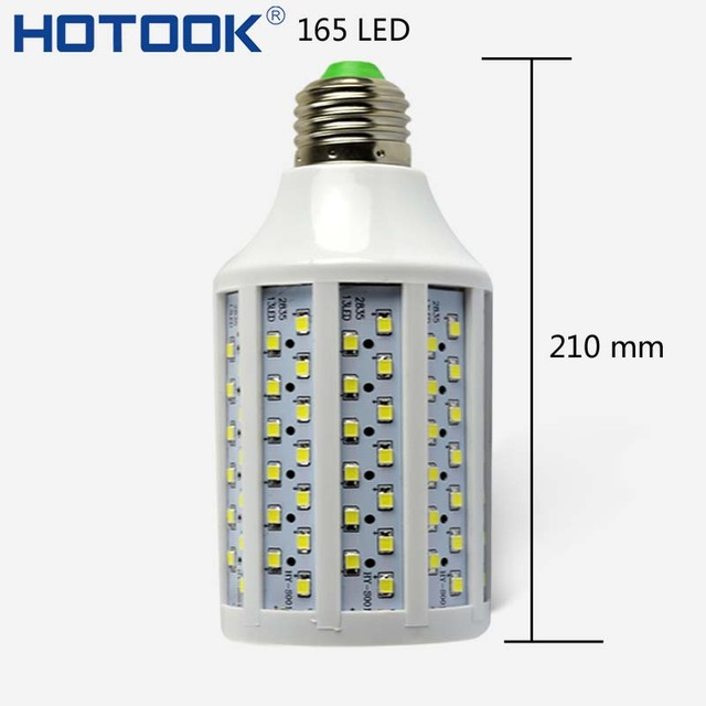 220V 110V 30w LED Lamp E27 SMD 5050 Corn Bulb 165LED Lampada de LED High Lumen Indoor led kitchen Bulb Lighting Home Decoration