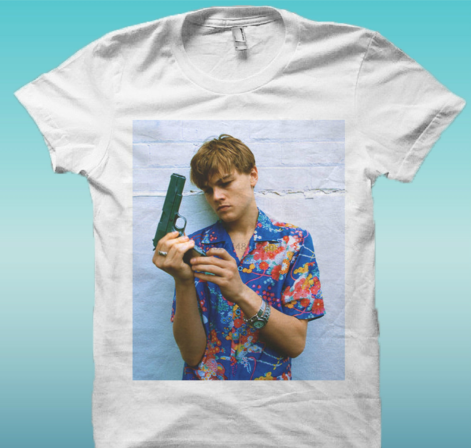 T     Shirt   Leonardo Dicaprio Romeo Movie The Happiness Is Han My New