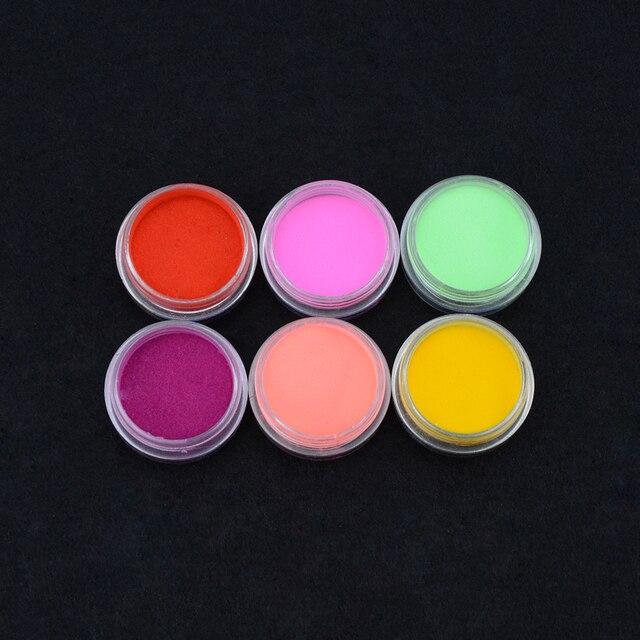 Elite99 UV Gel 6 Farbe UV Builder Erweiterung Maniküre Gel Polnischen Carving Acryl Pulver Nail art Werkzeug UV Staub Builder nagel Pulver